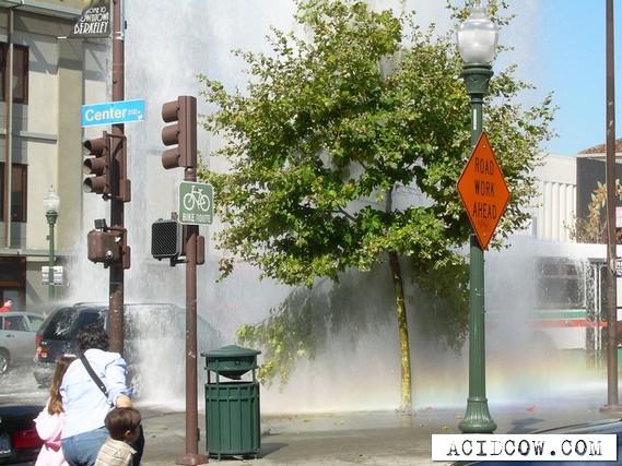 Very beautifully broken hydrant) (6 pics)