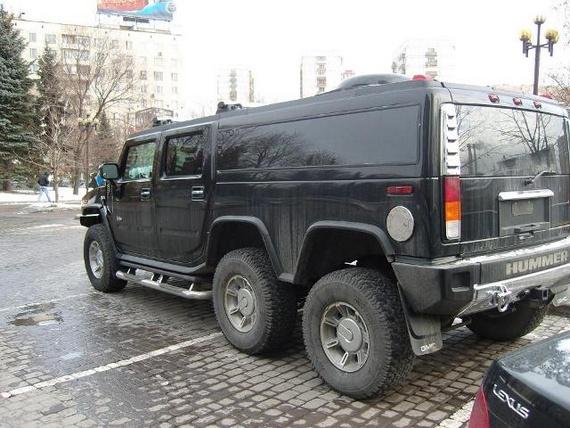 Six-Wheeled Stretch Hummer (5 pics)