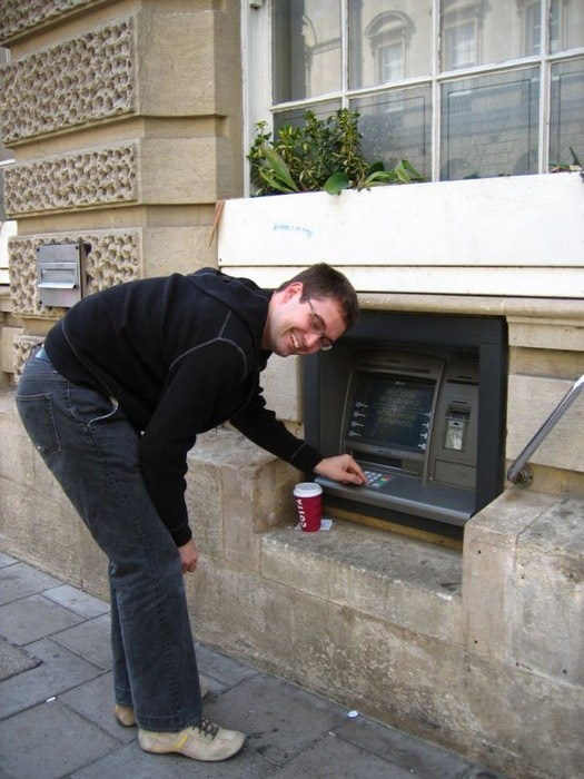 Strange ATM (2 pics)