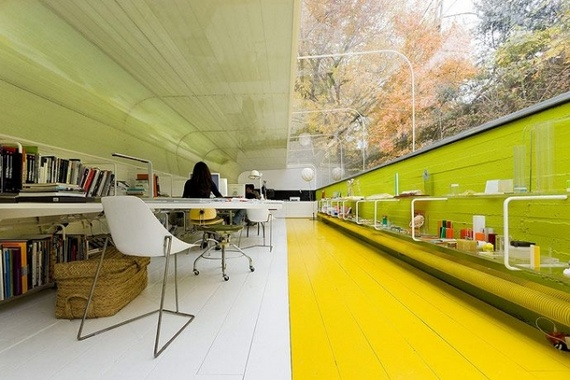 Office in the Woods (16 pics)