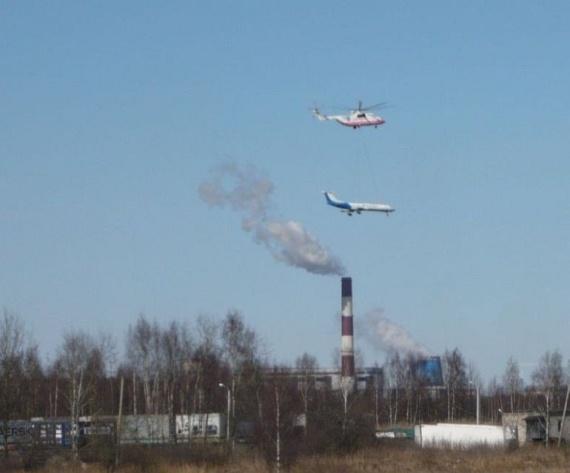 Mi-26 carries Tu-134! (6 pics + video)