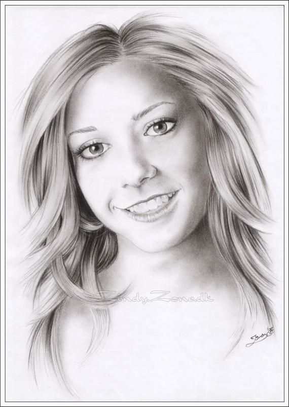Pencil and Charcoal Drawings (53 pics)
