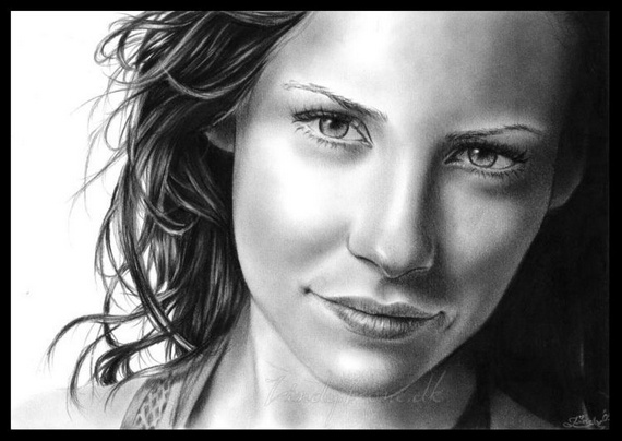 Pencil and Charcoal Drawings (53 pics)