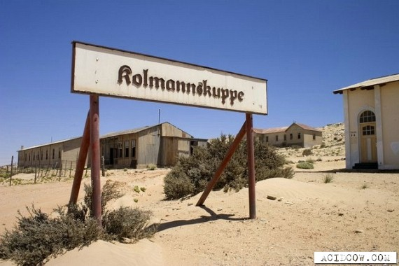 Kolmanskop - Ghost Town in the Desert (18 pics)