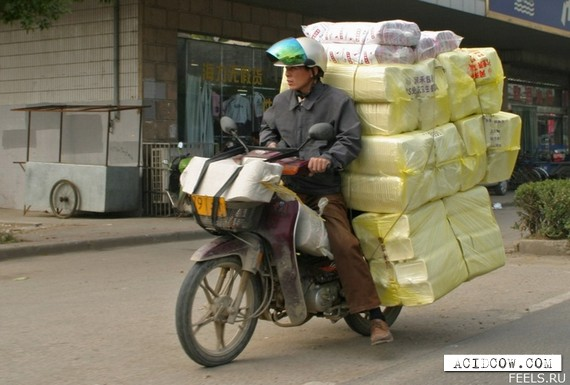 """Slightly"" overloaded cars (84 pics)"