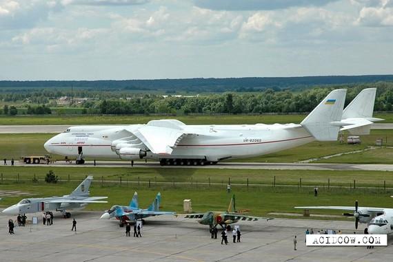 An-225 heavy load cargo aircraft (24 pics)