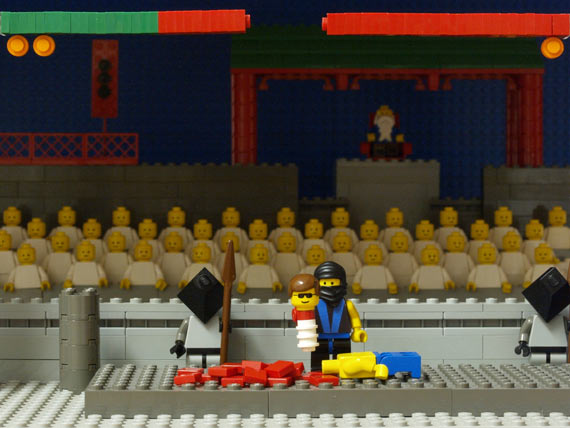 Lego video game scenes (12 pics)