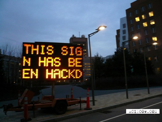 Be careful, hackers in the town (4 pics)
