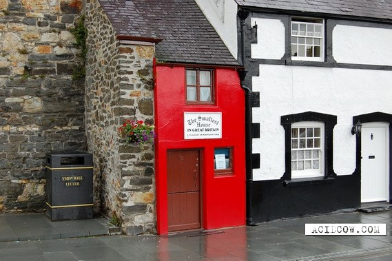 The Smallest House in Great Britain (8 pics)