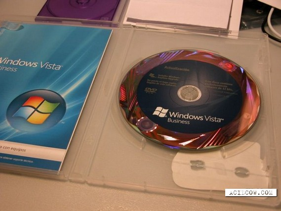 Vista CD with surprise (5 pics)
