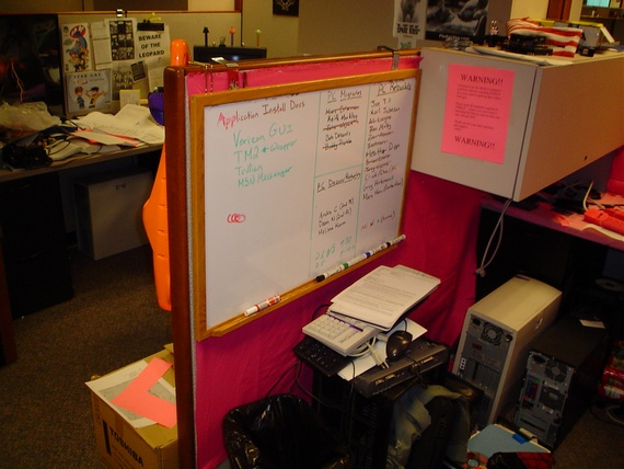 Office prank (12 pics)