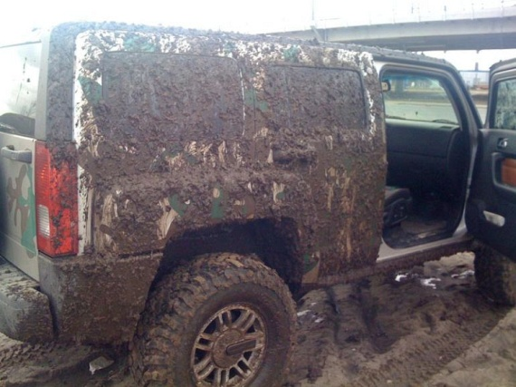 Story about a dirty Jeep (4 pics)