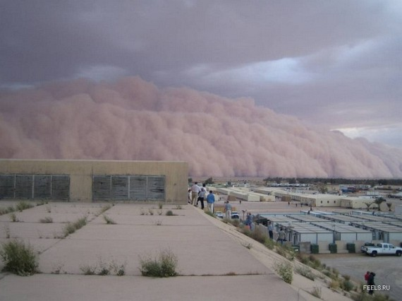 Sandstorm In Iraq (9 pics)