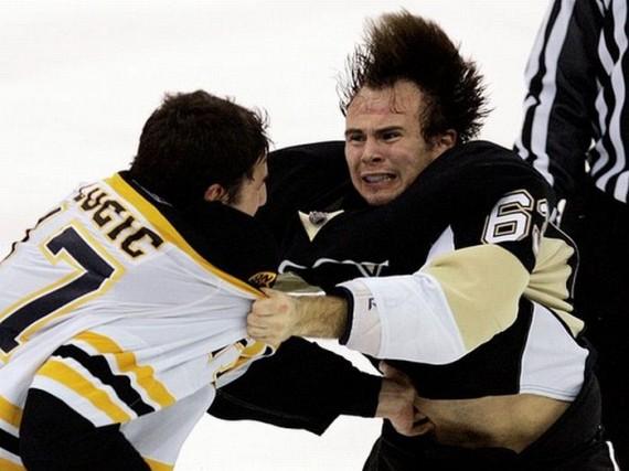 Hockey Fights (33 pics)