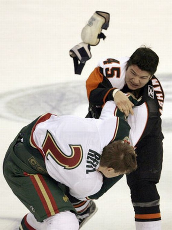 Hockey Fights (33 pics)