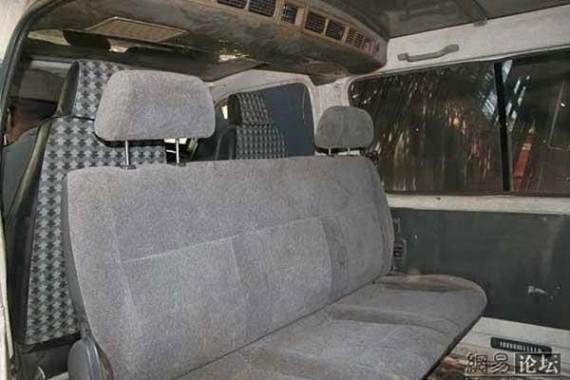Bulletproof car from Somalia for VIP (8 pics)