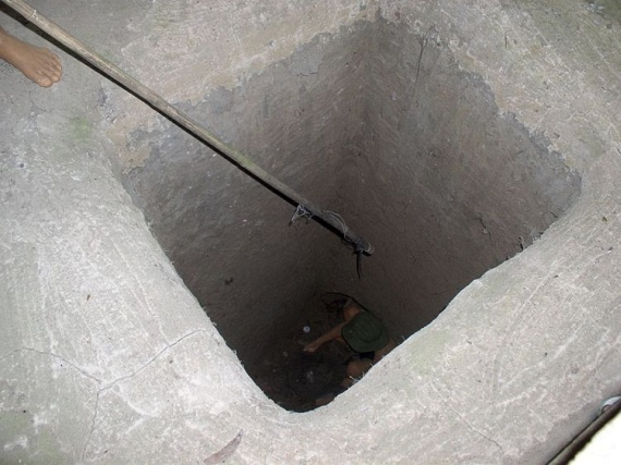 Viet Cong tunnel systems (22 pics)