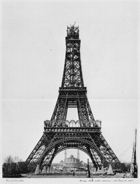 How To Build The Eiffel Tower 18 Pics