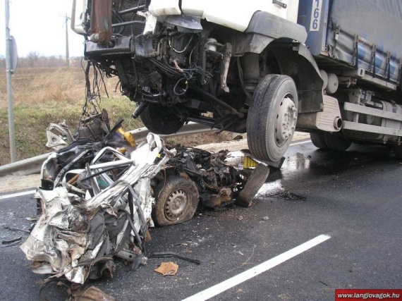 Terrible Accident In Hungary 7 Pics