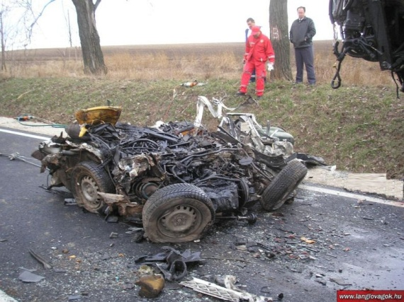 Terrible Accident in Hungary (7 pics)