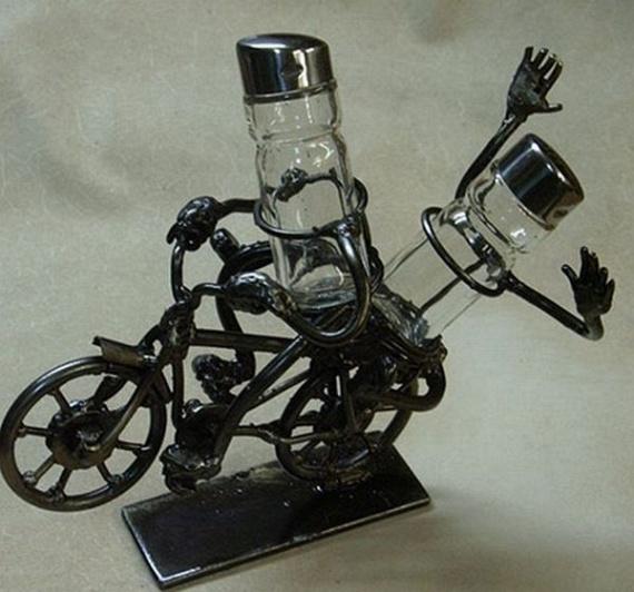 Hand made metallic objects (33 pics)