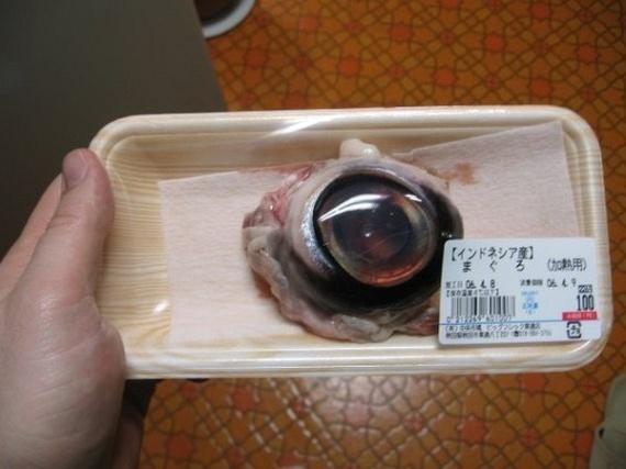 Eating a Tuna Eyeball (6 pics)