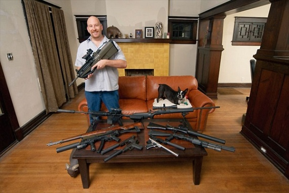 Portraits of Gun Owners in Their Homes