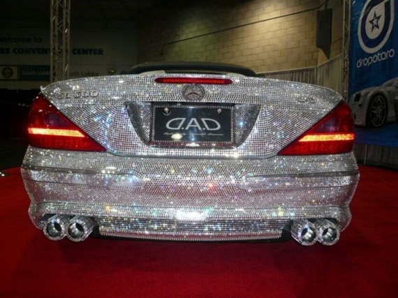 Mercedes for Rich Girls (13 pics)