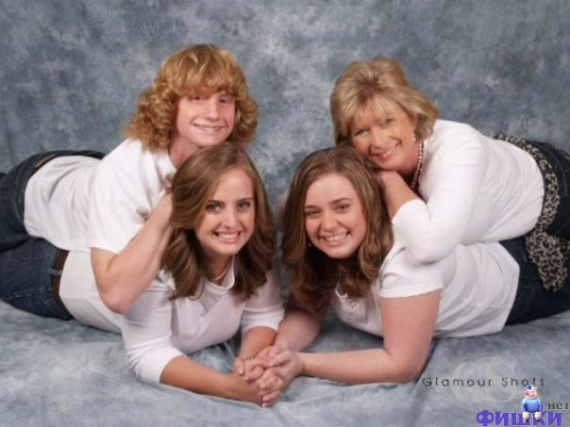 Funny Family Photos (61 pics)