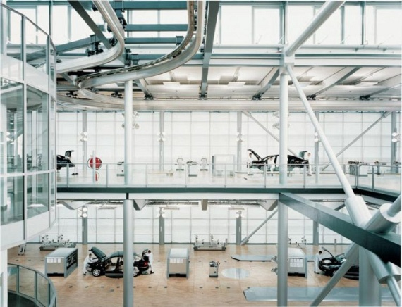 A photo tour of the Transparent Factory in Dresden