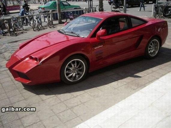 Fake Chinese Ferrari (10 pics)