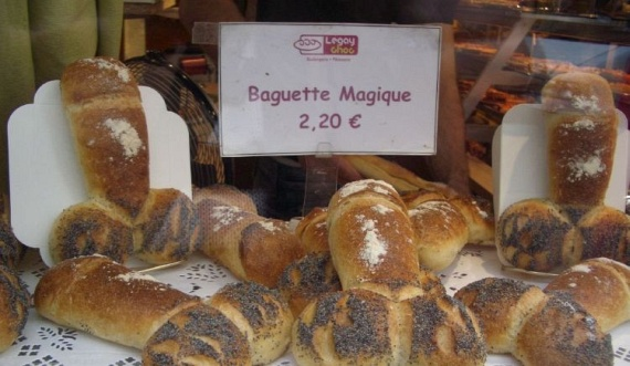 French baguettes with poppy seeds (6 pics)