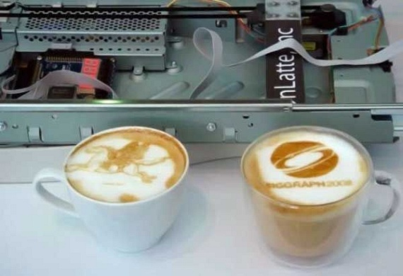 Coffee Printer (14 pics)