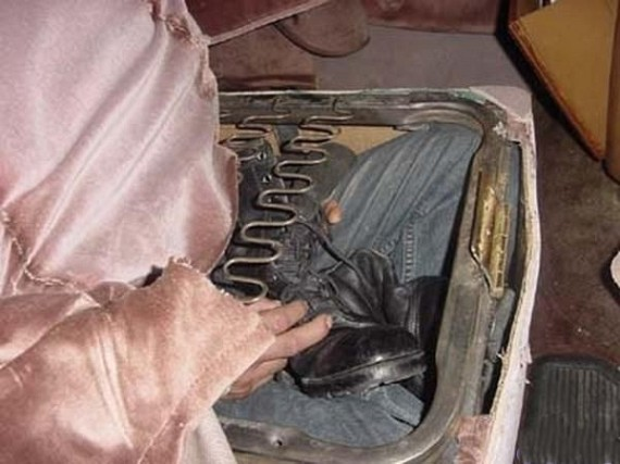 Transportation of illegal immigrants (4 pics)