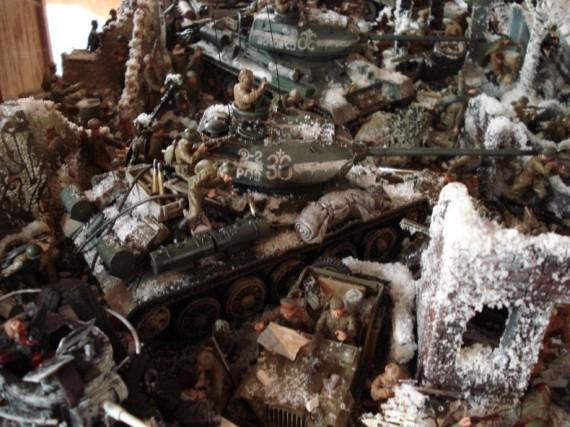 Maquetas de la batalla de stalingrado