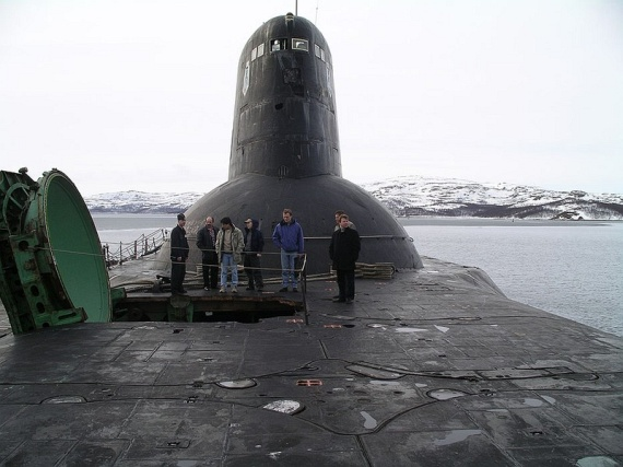 World's Biggest Submarine (94 pics)