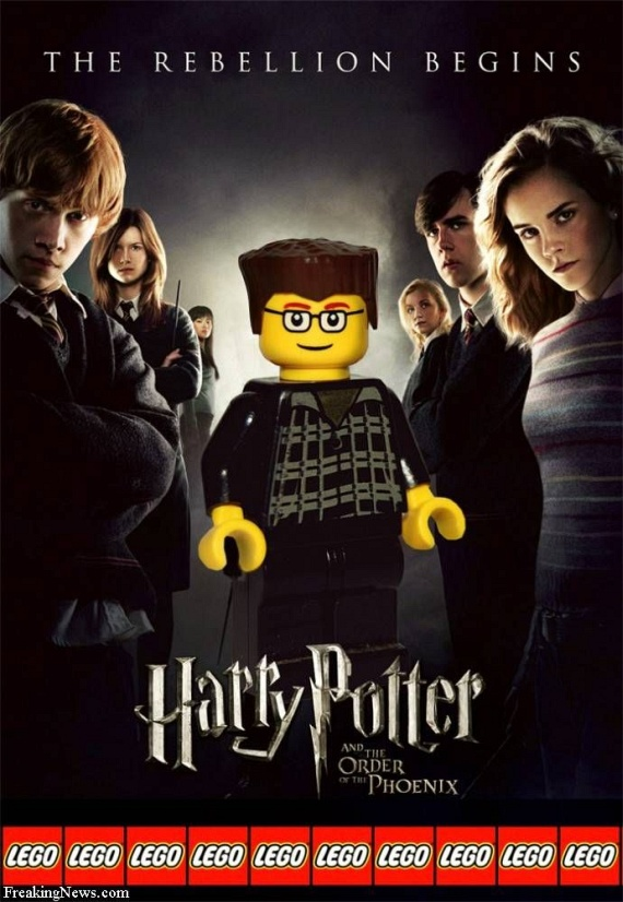 Amazing Movie Posters Recreated with Lego