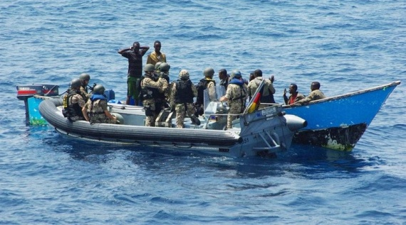 Piracy in Somalia (30 pics)