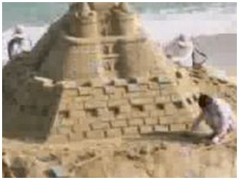 2009 Sand Art with time lapse recording (3.7 Mb)