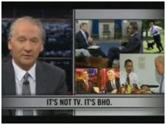 HBO's Bill Maher takes on President Obama (12.5 Mb)