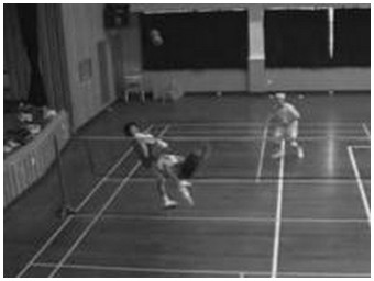 Demonstration of sepak takraw, a popular sport in the South-East Asia (2.7 Mb)
