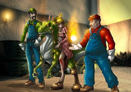 Megapost Super Mario Bros FanArt