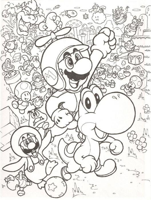 Megapost Super Mario Bros FanArt - Imágenes - Taringa!