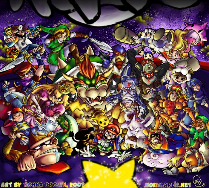 Megapost Super Mario Bros FanArt  Taringa