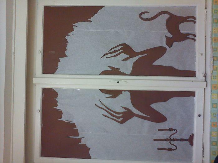 Halloween Window Workshop (7 pics)