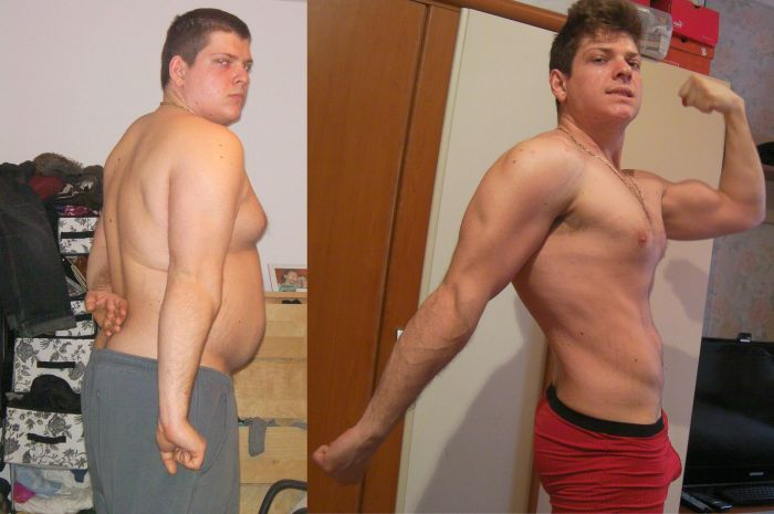 Alex Ghica's Weight Loss Story (16 pics)