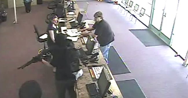 This Is How A One Man Robbery Happens