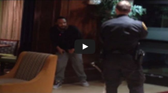 Cop Can't Take Down Guy By Himself Even With Taser