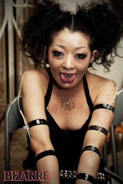 Weird Japanese Body Modification (18 pics)