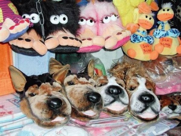 Funny Slippers (12 pics)